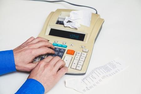 problème rouleau papier calculatrice imprimante